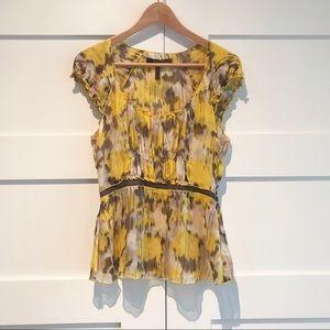 BCBGMaxAzria silk blouse